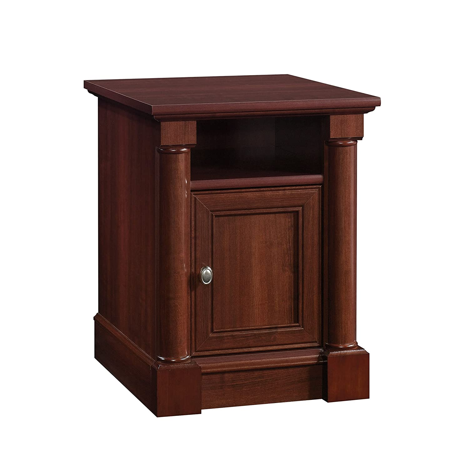Sauder 420519 Palladia Side Table, Select Cherry Finish Sauder Woodworking