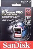 Sandisk SDXC Extreme PRO UHS-II 64GB R 300MB/s W 260MB/s U3 SDSDXPK-064G サンディスク 海外パッケージ品 [並行輸入品]