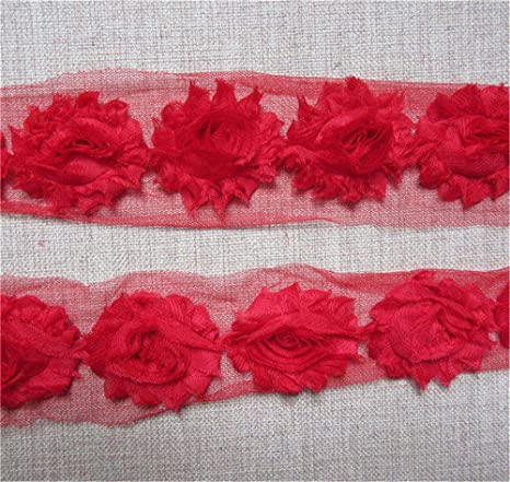 Pink Lace Trim Trimming Edging 15 mm Width Please Choose Length