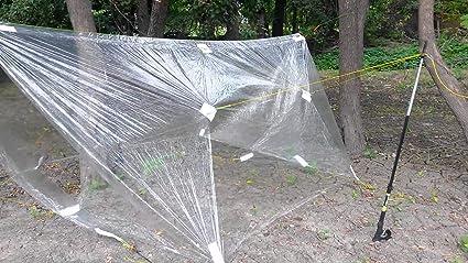 polycro environ 3.05 m Ultralight polycryo Ground Cloth Feuille Tente Empreinte 7 par 10 ft