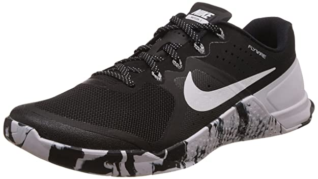 online retailer a0a95 0be9c ... amazon amazon nike mens metcon 2 synthetic trainers black white fitness  cross training bb85f edbed