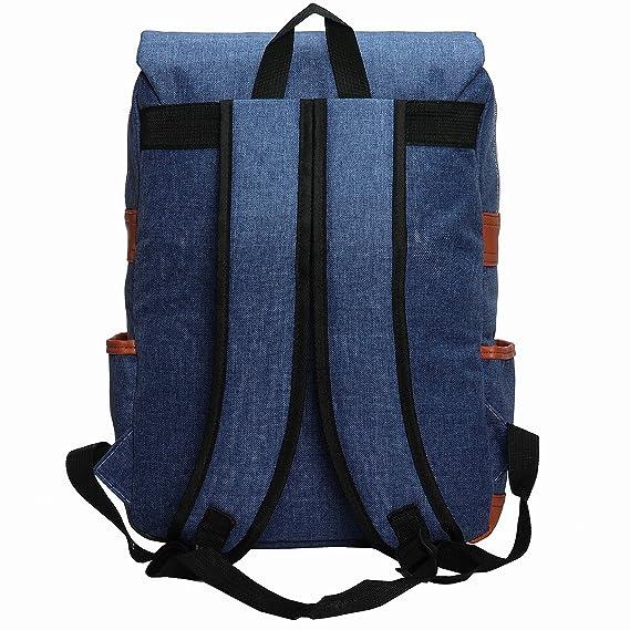 Amazon.com | OURBAG Unisex British Style Casual Waterproof Oxford School Backpack Rucksack Blue | Kids Backpacks