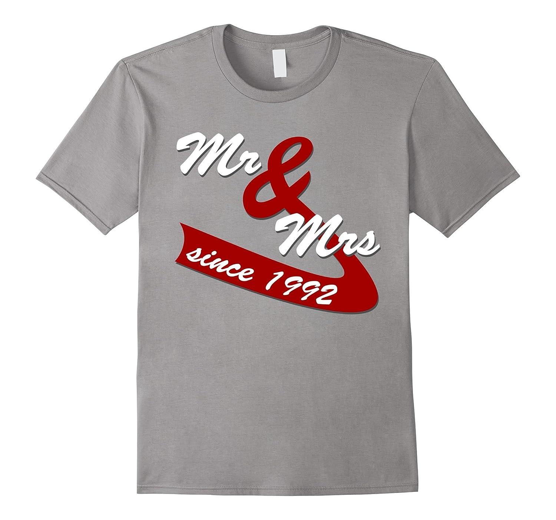 25th Wedding Anniversary Gift Ideas Couples T Shirt-PL