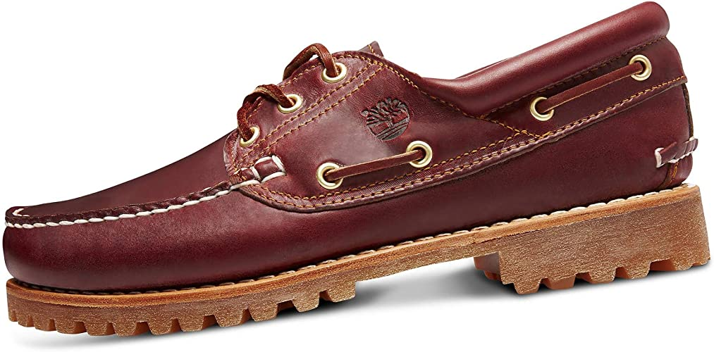 Dictar Sillón componente  Timberland Mens Moccasin 50009 Authentic 3-Eye Boat Burgundy, Schuhe  Herren:42: Amazon.co.uk: Shoes & Bags