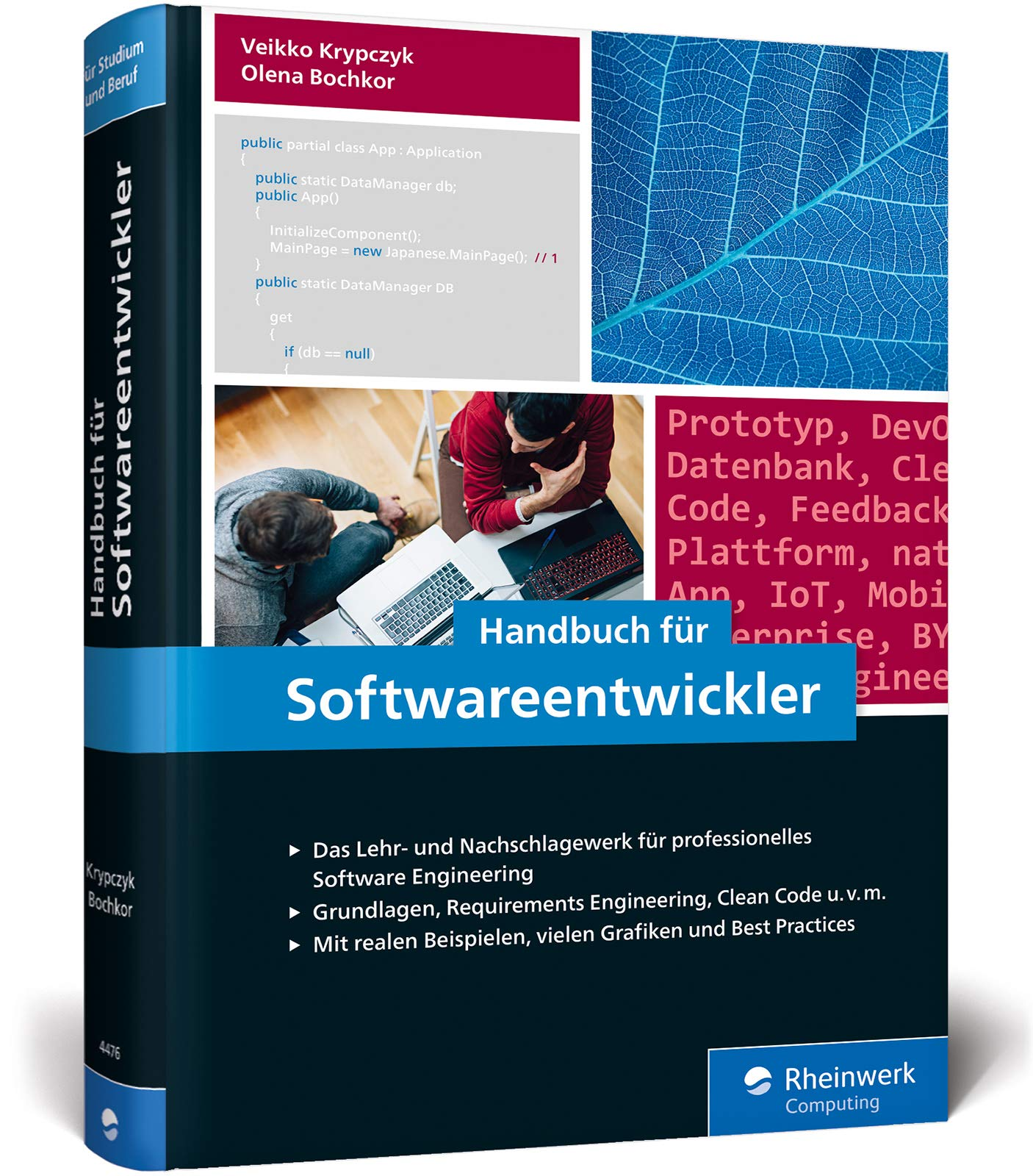 Handbuch für Softwareentwickler: Das Standardwerk zu professionellem Software Engineering