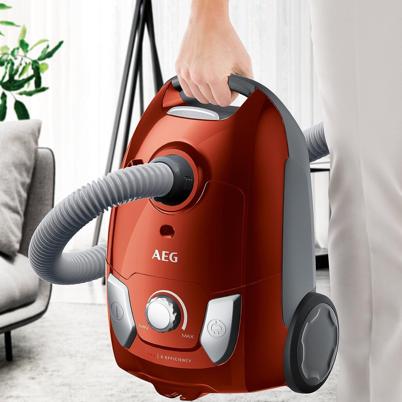 AEG VX6 2 CR A aspirateur avec sac EEK A (buse pour plancher