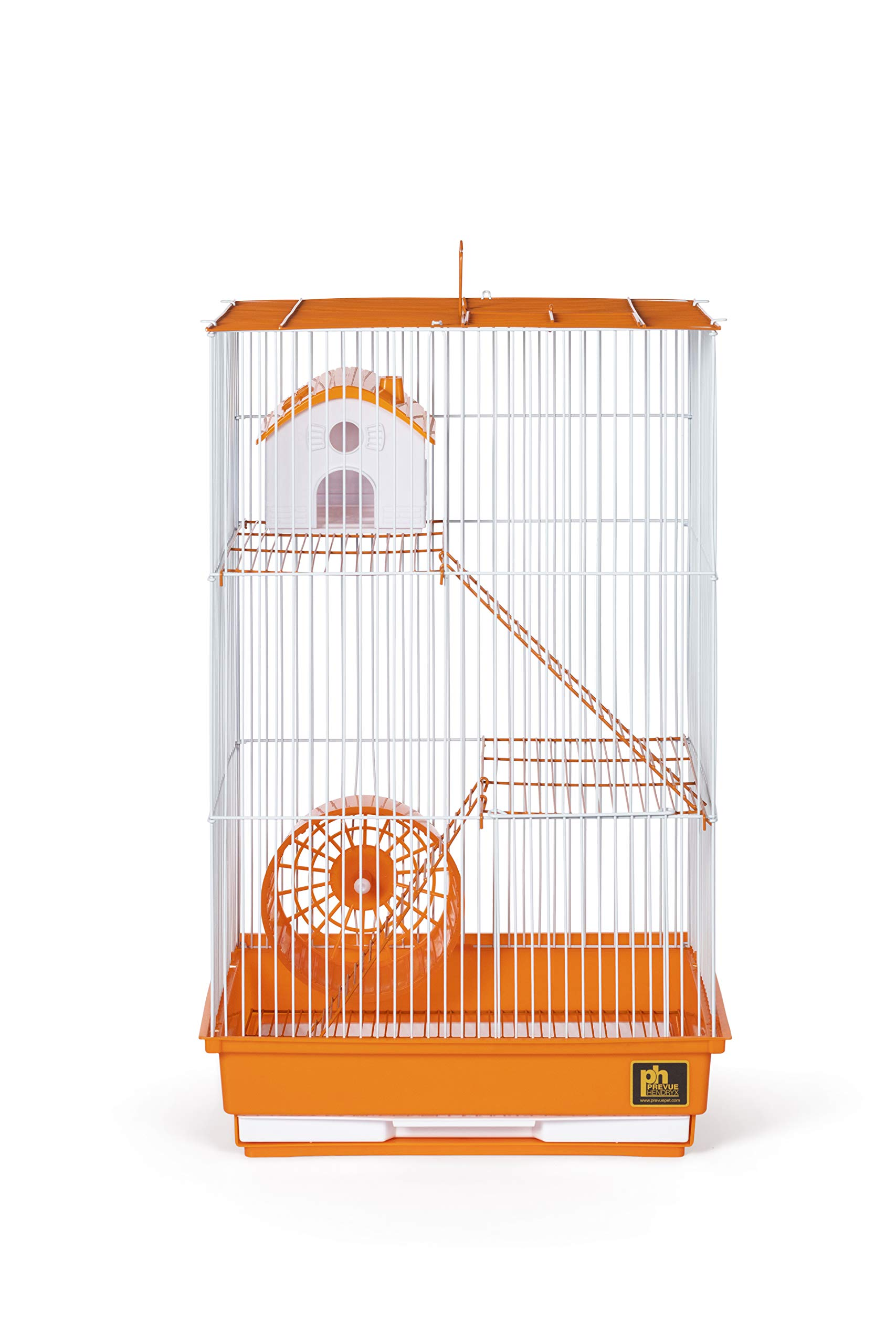 Prevue Pet Products Three-Story Hamster & Gerbil Cage Orange & White SP2030O by Prevue Pet Products (Image #5)