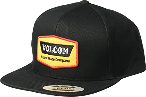 Volcom Gorras Cresticle Black/Yellow Snapback: Amazon.es: Ropa y ...