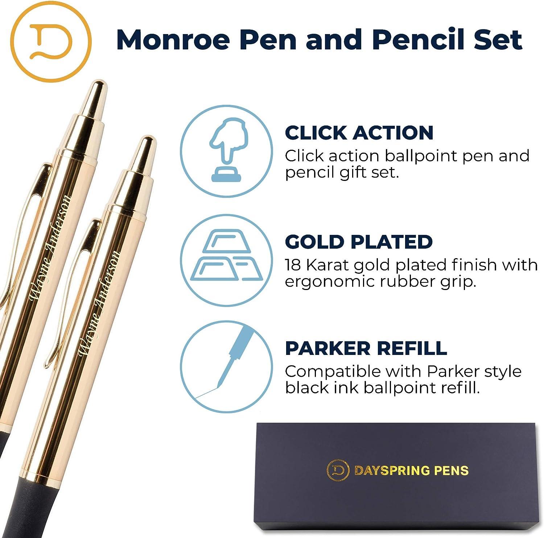 Alabama State University Gold Click-Action Gel pen