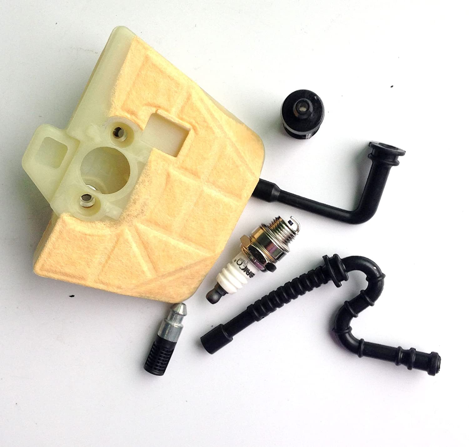 Podoy 034 Air Filter For Stihl 036 Ms360 Ms340 Chainsaw Av Parts Diagram On 028 Carb Fuel Oil Line Tube Spark Plug Industrial Scientific