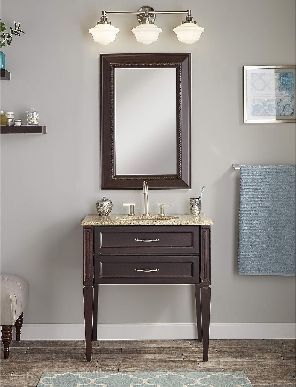 Best  brushed nickel bathroom vanity lights