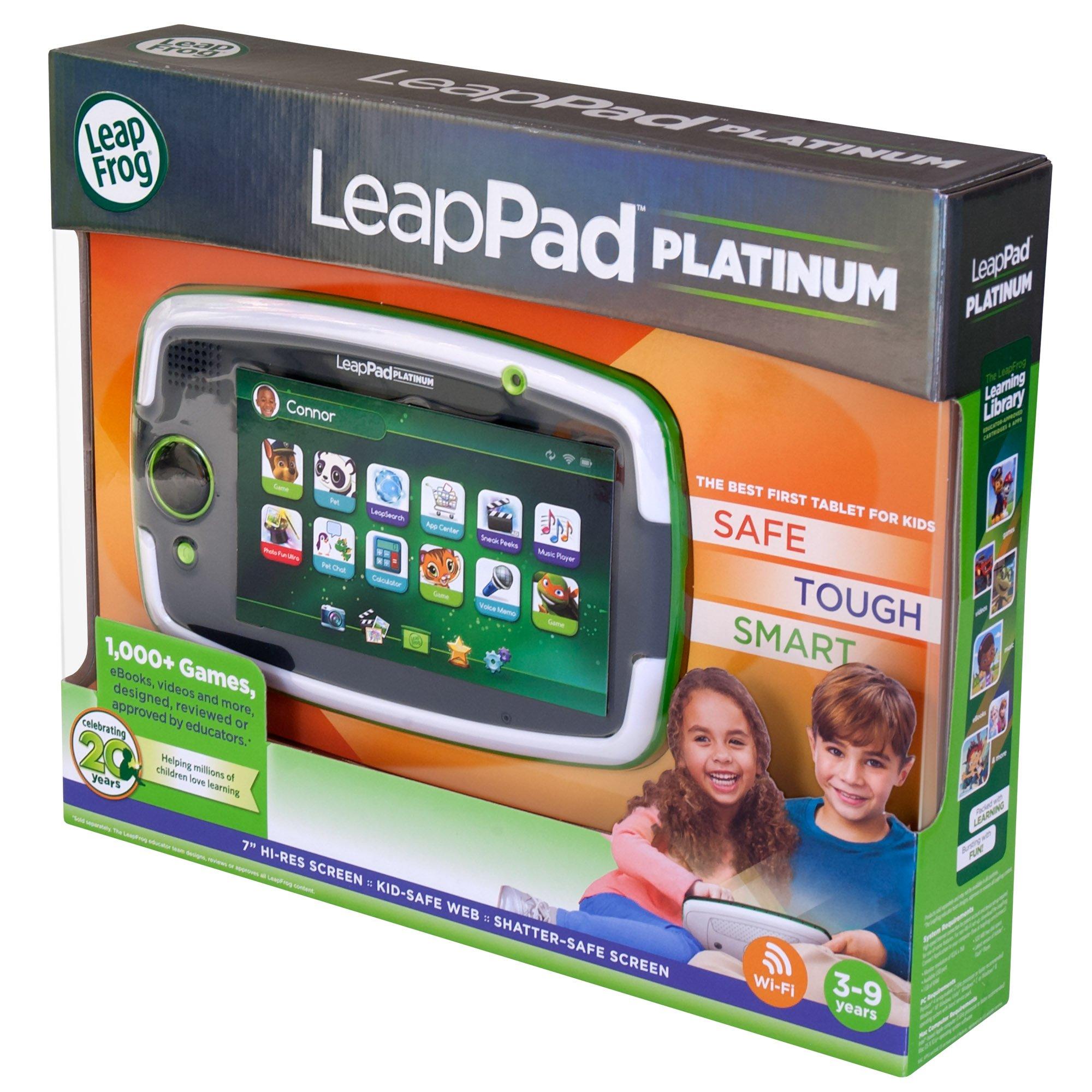 LeapFrog LeapPad Platinum Kids Learning Tablet, Green by LeapFrog. (Image #18)