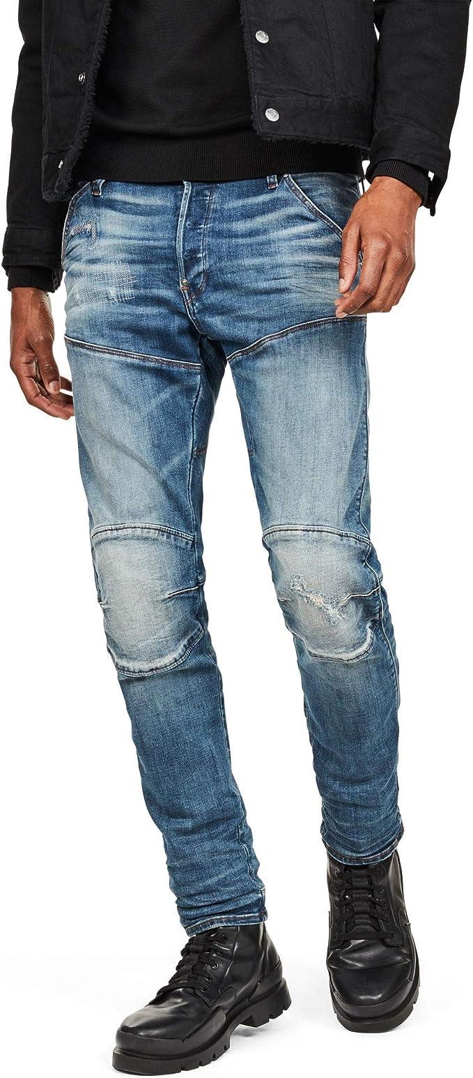 G STAR RAW 5620 Elwood 3D Slim Jeans, Multicolore (DK Aged