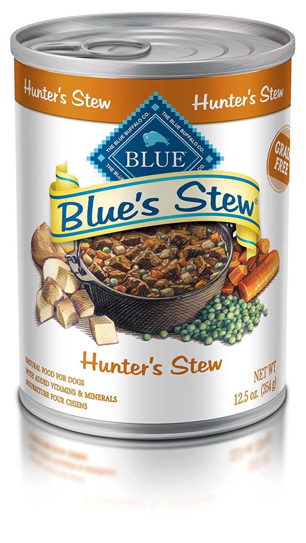 bluee Buffalo bluee bluee's Stew Hunters Stew for Dogs 12.5 oz