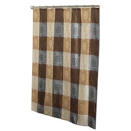 Zenna Home Anthology Ariel Decorative Shower Curtain Amazoncouk Kitchen