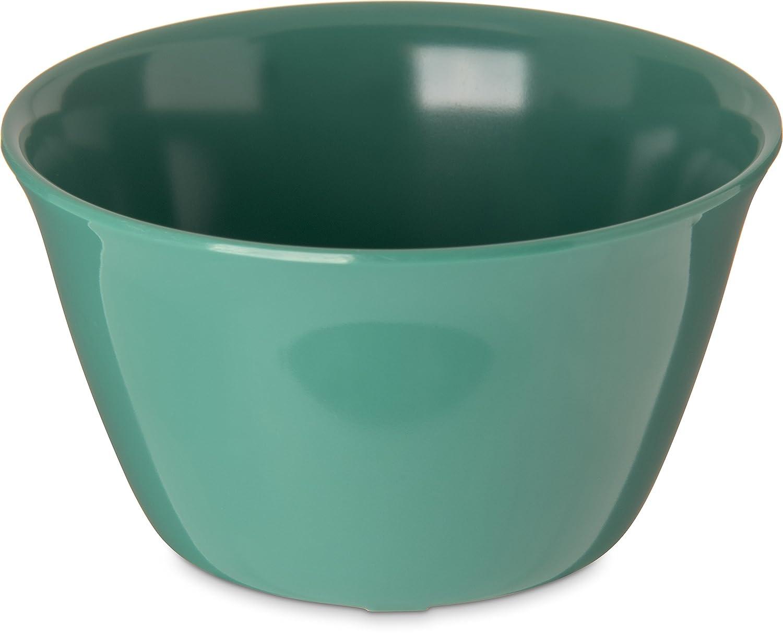 Carlisle 4354009 Dallas Ware Melamine Bouillon Cup Bowl, 8 oz, Green (Pack of 24)