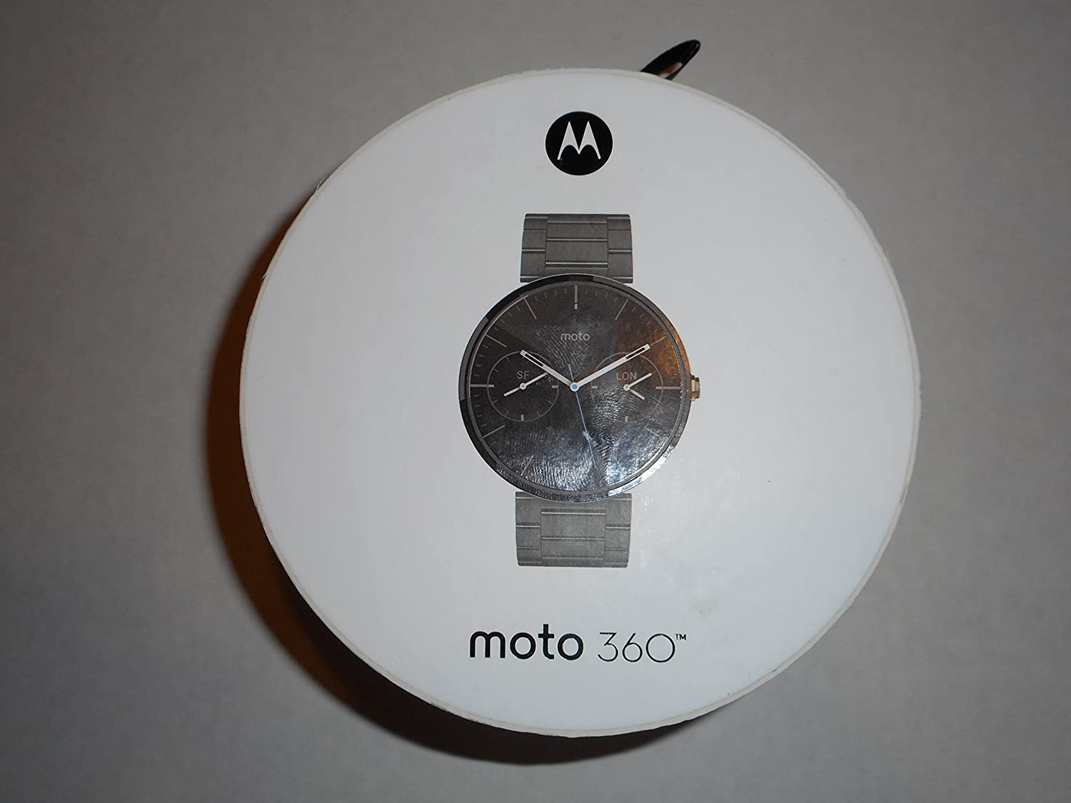 Amazon.com: Motorola Moto 360 Smartwatch Stainless Steel ...