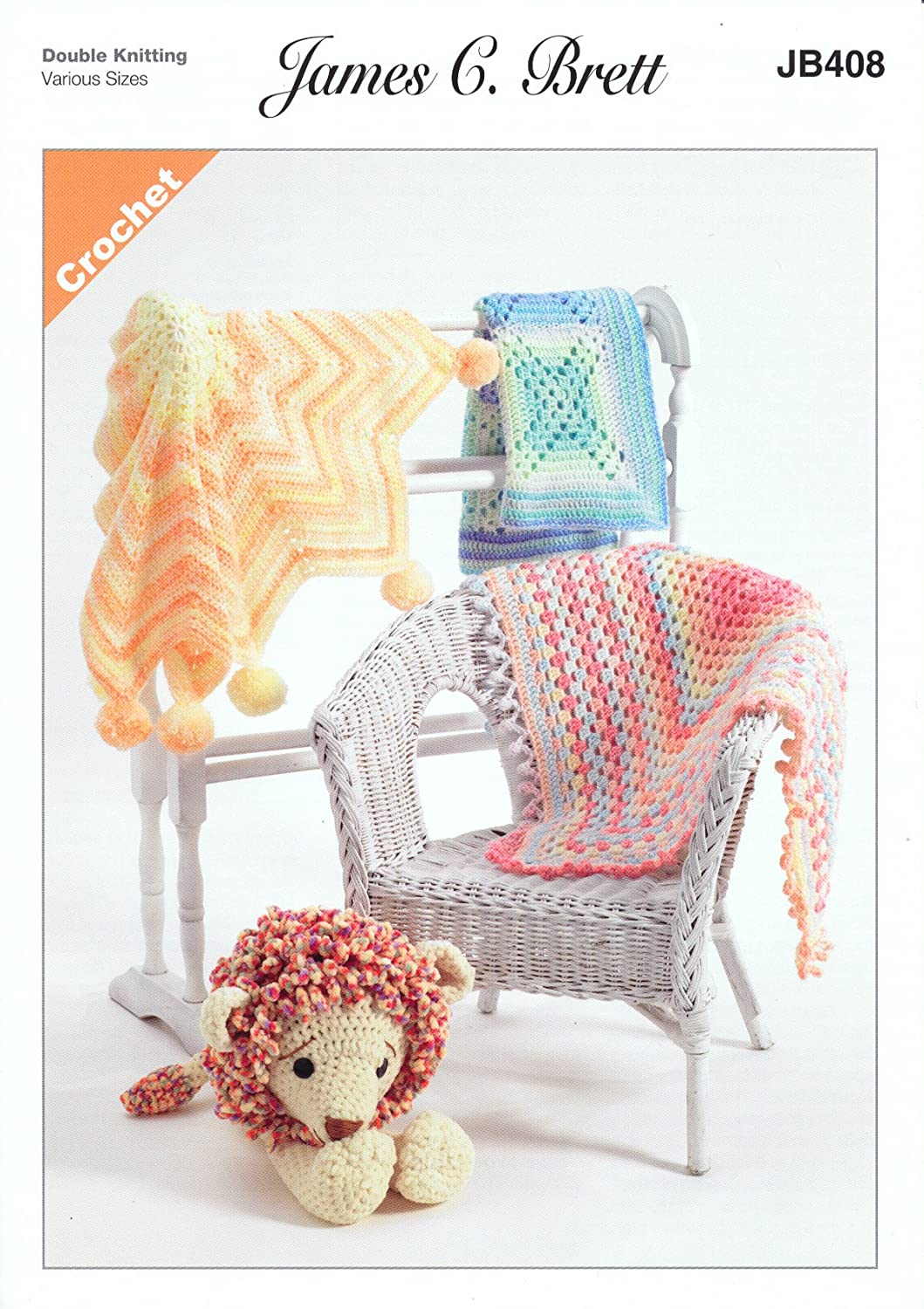 James Brett Double Knit Crochet Pattern