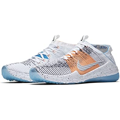 eb0a7d276e2 Nike Women s Air Zoom Fearless Flyknit 2 NEO Training Shoes Obsidian White-  Blue Glow