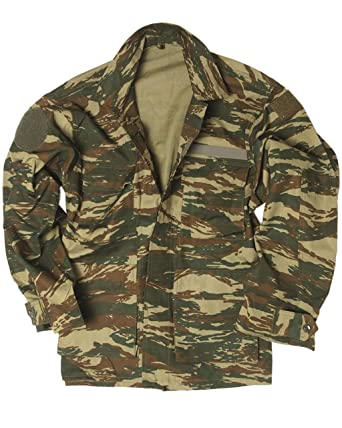 ee0afa015959f Greek Army Genuine Issue Surplus Military Combat Camo Field Jacket -  Unissued (XS)