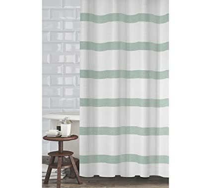 PB Home Mulberry Shower Curtain Mint