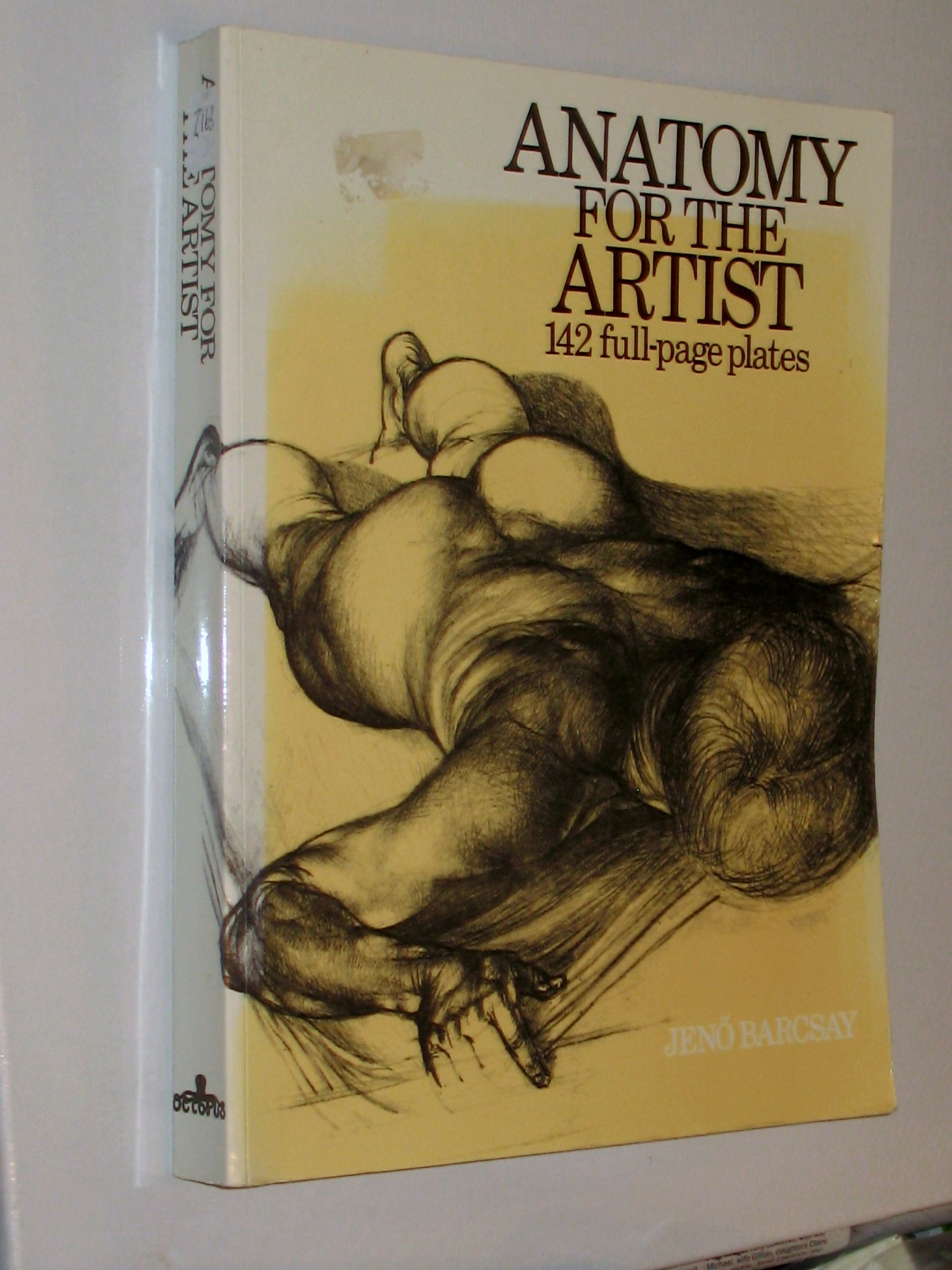 Anatomy for the Artist: 142 Full Page Plates: Jeno Barcsay ...