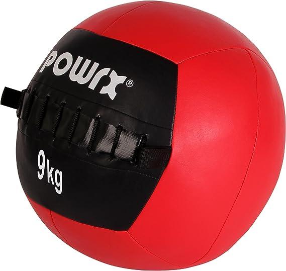 Balón medicinal Wall Ball, 1-10 kg, 9 kg / Rot: Amazon.es ...