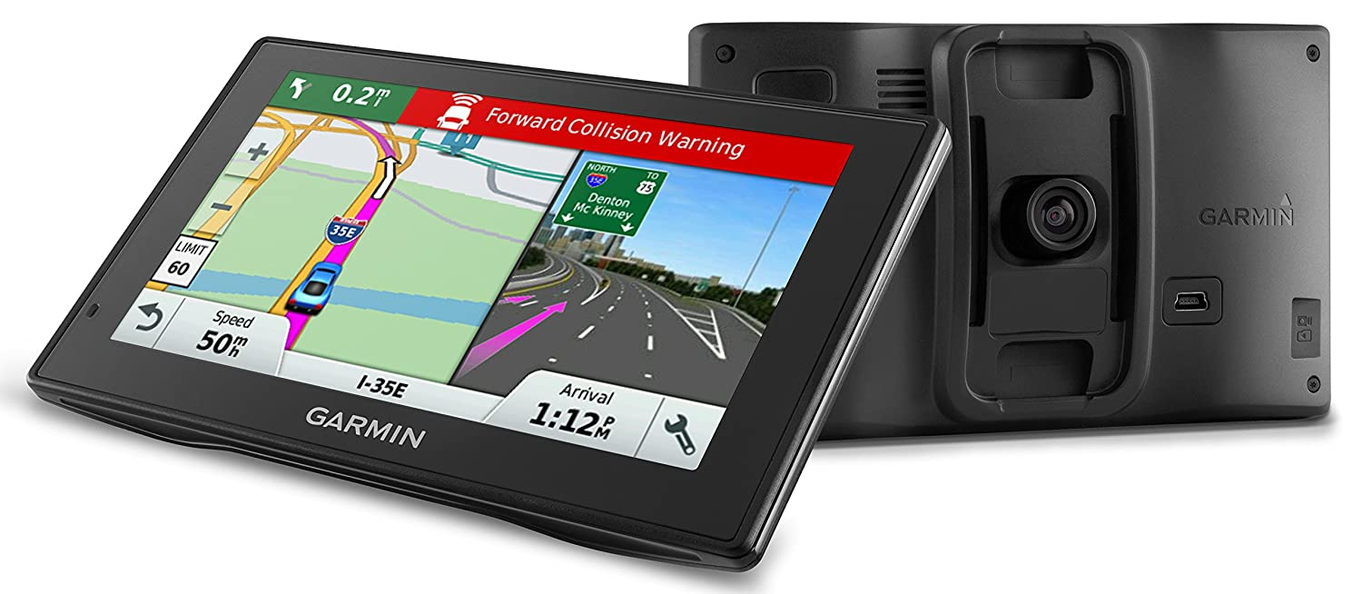 $239.99 (was $399.99) Garmin DriveAssist 50 5-Inch GPS Navigation System with Built-in Dash Cam, Traffic and Lifetime North America Maps