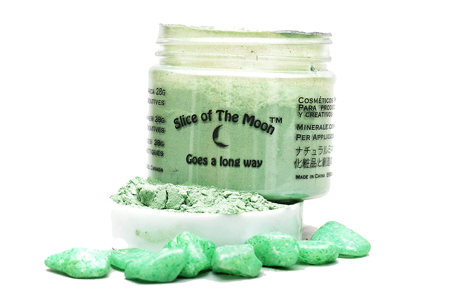 Slice Of The Moon Apple Green Mica Powder Cosmetic, 28g EKS Entertainment Group