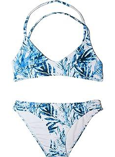 3124505c590f2 Amazon.com  Chance Loves Swimsuit Blue Lagoon Bikini for Tween and ...