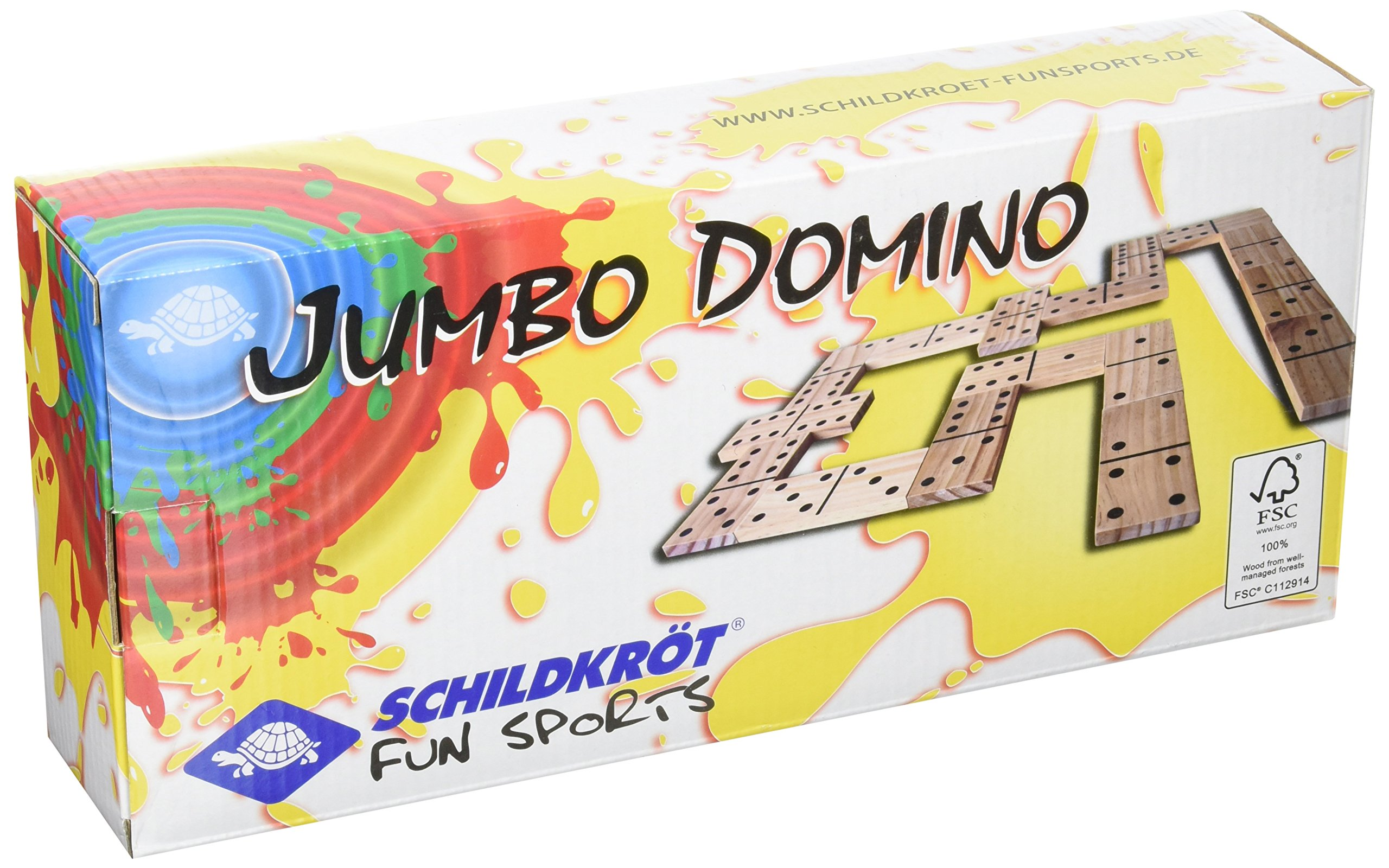 Schildkr?t Fun Sports Schildkrot Fun Sports Jumbo Domino - Brown by