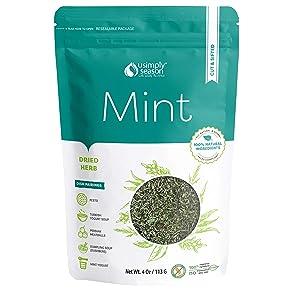 USimplySeason Mint (Dried Cut & Sifted, 4 Ounce)