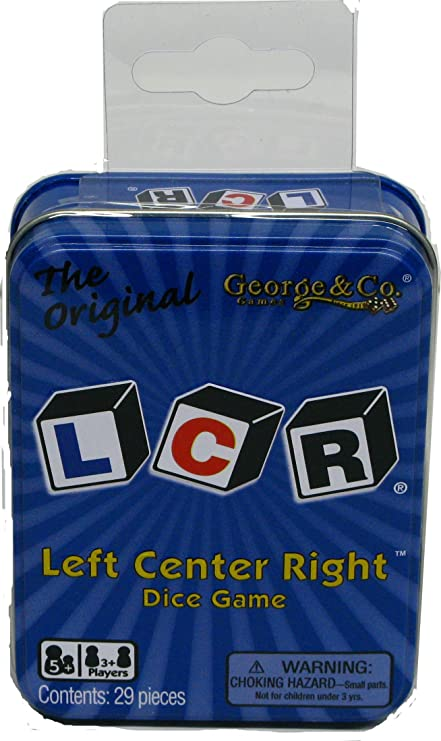 LCR Left Center Right Electronic Hand-Held Game