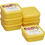 Ruchi Storewel 30 Container Set, Set of 6, Solid Yellow