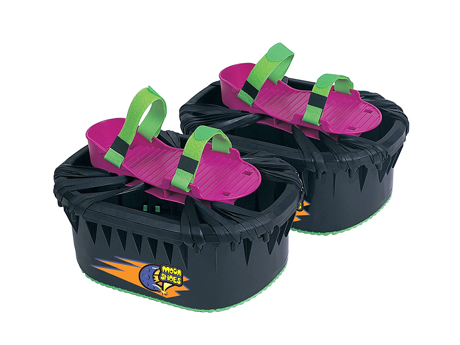 online retailer 3b04d c3d06 Big Time Toys Moon Shoes Bouncy Shoes - Mini Trampolines For your Feet -  One Size