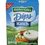 Hidden Valley Original Ranch Dips Mix, Gluten Free - 4 Count