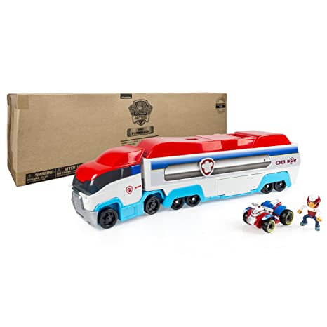 Amazon.com  PAW Patrol - PAW Patroller Rescue   Transport Vehicle  Toys    Games 52659e1756