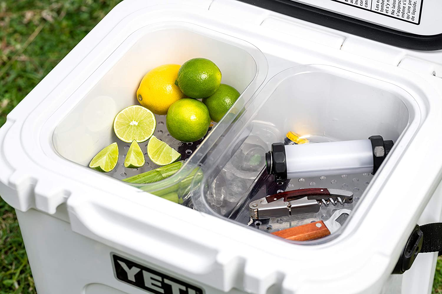 BEAST COOLER ACCESSORIES 2-Pack of Yeti Roadie 24 Compatible Dry Goods Trays - Two Trays Specifically Designed to Fit Side-by-Side and be Compatible with The YETI Roadie 24 Hard Cooler