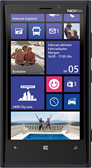Nokia Lumia 920 - Smartphone Libre Windows Phone (Pantalla 4.5 ...