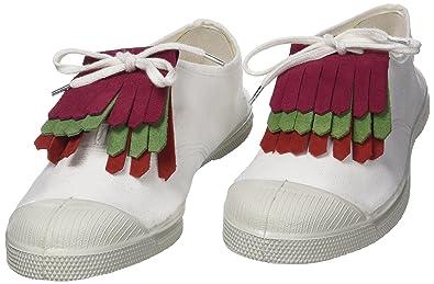 476ef366fda8d4 Bensimon TRIPLETTES Bijoux de chaussures, Multicolore (Rose/Vert/Rouge) One  Size