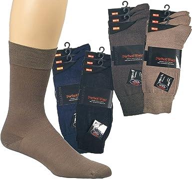 Socks Pur Business Socks - Calcetines (100% algodón mercerizado, 3 ...