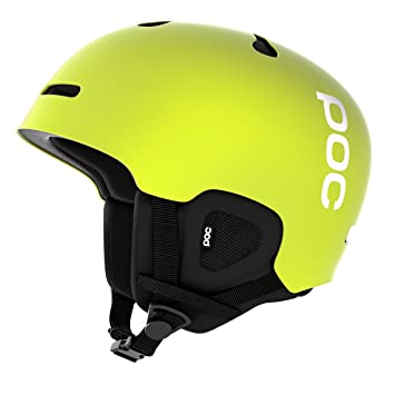 POC Auric Cut Casco de esquí, Unisex, Auric Cut, Hexane Yellow