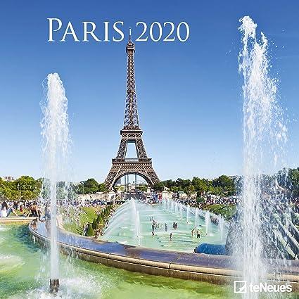 Calendrier World Tour 2020.Calendrier 2020 Paris Tour Eiffel Arc De Triomphe Pont