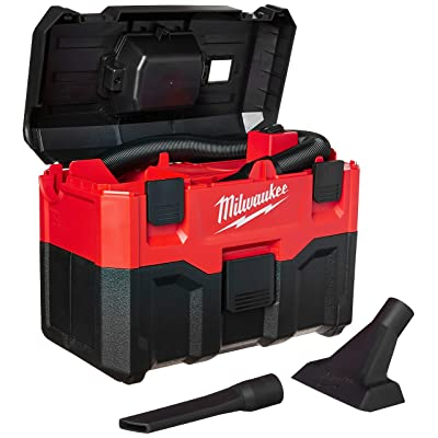 Milwaukee 0880-20 18-Volt Cordless Wet/Dry Vacuum, Red - Shop Wet Dry Vacuums - .com