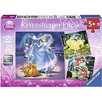 Ravensburger Ravensburger - Disney Snow White Cinderella & Ariel Puzzle 3x49pc Jigsaw Puzzle