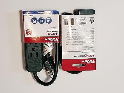 Hyper Tough 3-Outlet Power Strip
