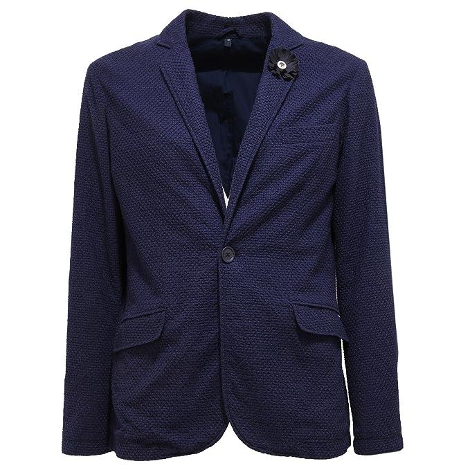 pretty nice 6f988 b06da 9731T giacca uomo ARMANI JEANS cotone blue cotton jacket men ...