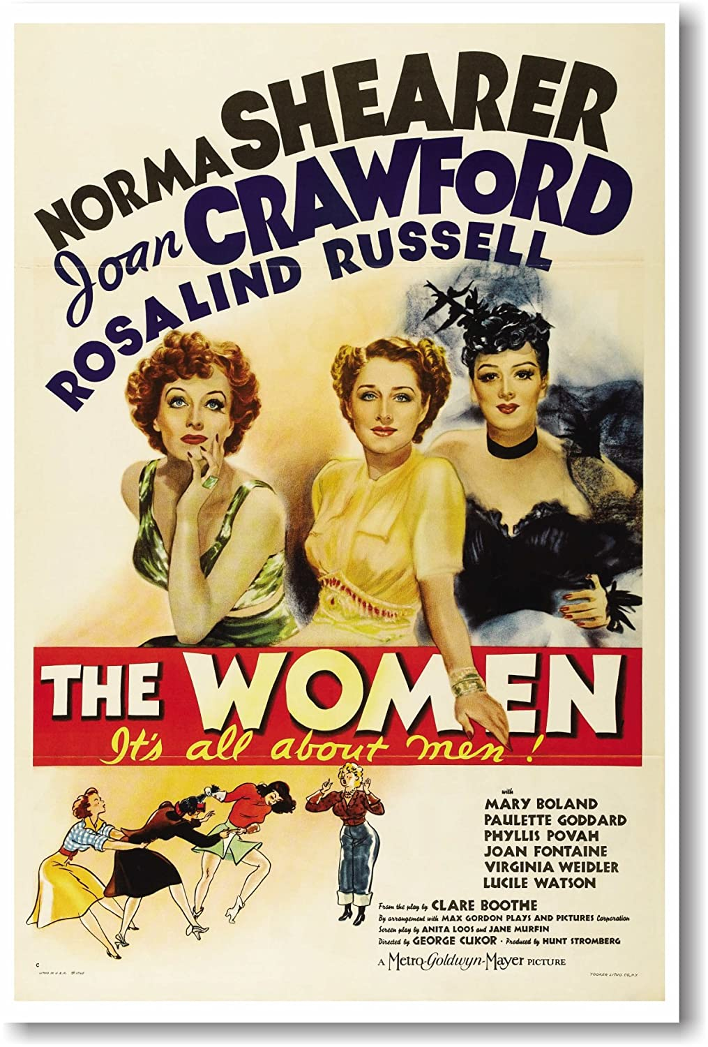 The Women 1939 Movie Poster - NEW Vintage Movie Poster