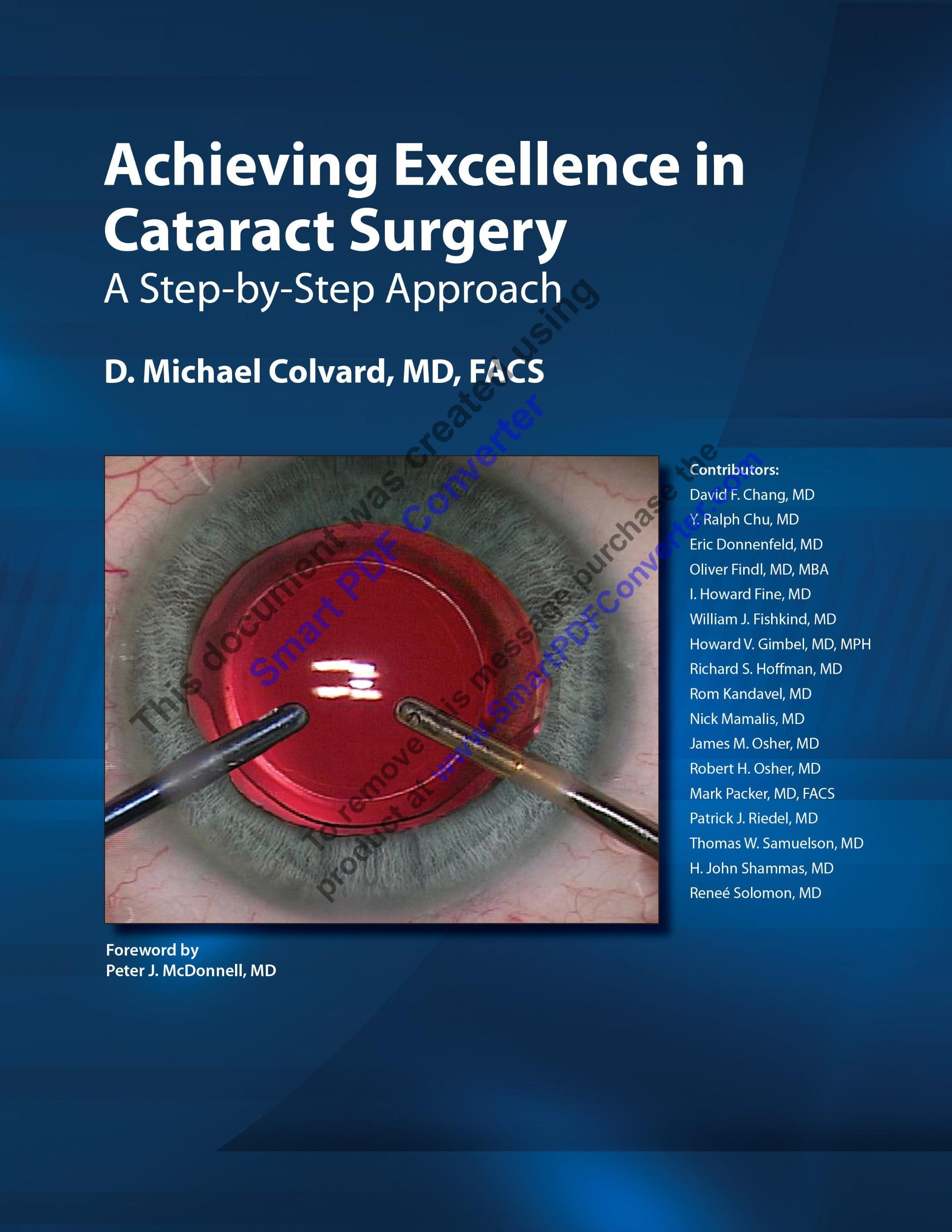 Achieving Excellence in Cataract Surgery A Step-by-Step Approach pdf