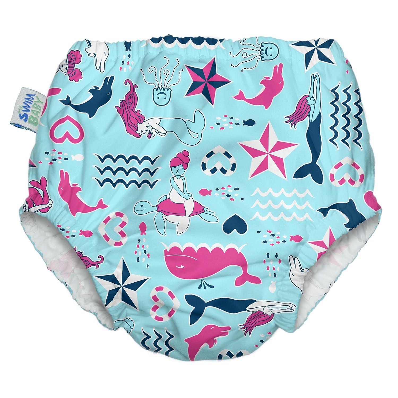 My Swim Baby New Diaper, Little Mermaids, Medium by My Swim Baby B013RG13RM